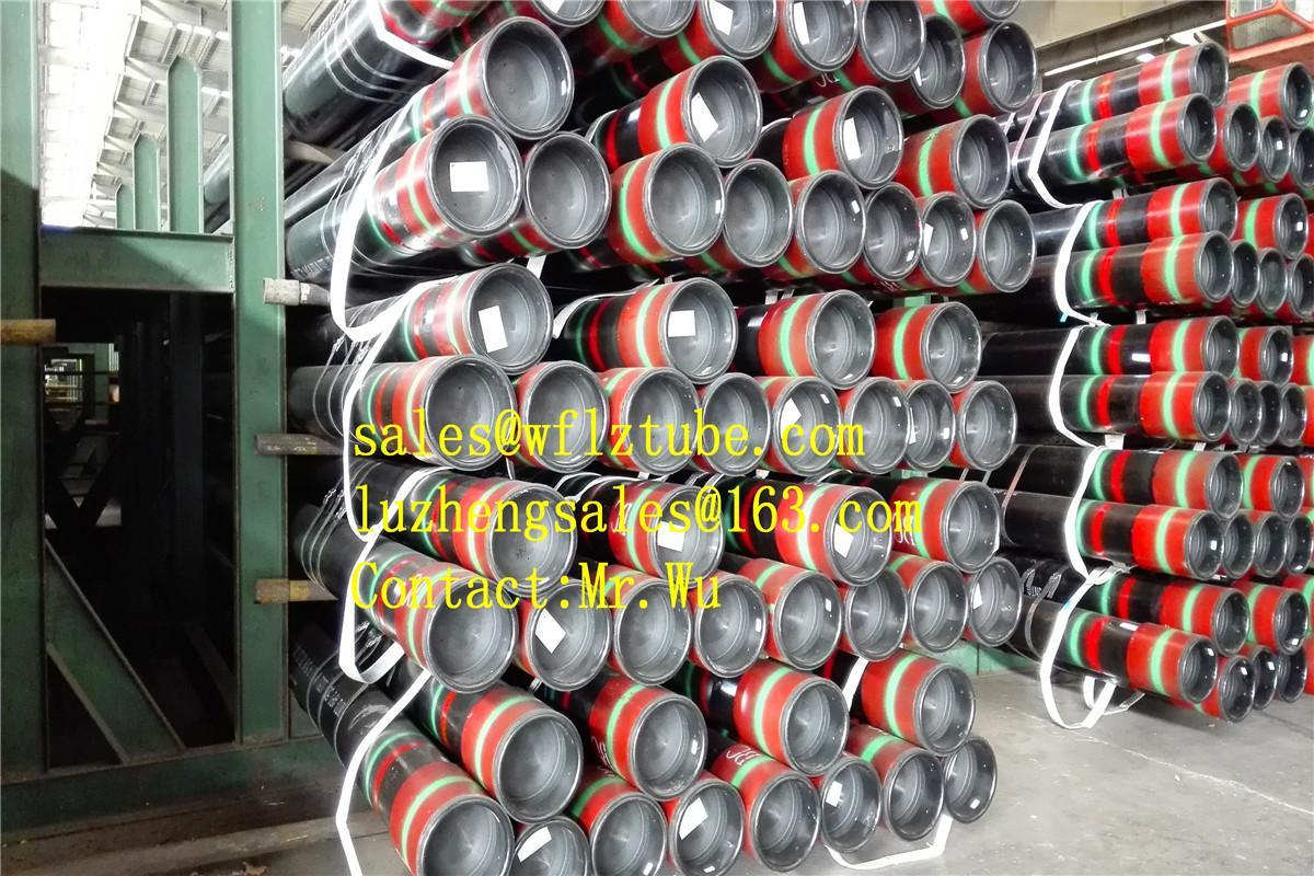 API 5CT Oil Casing with Buttress Thread, Stc Casing Pipe