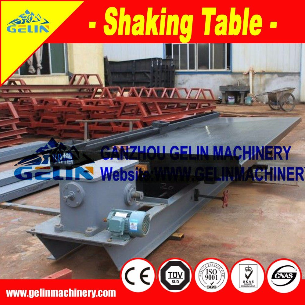 China Heavy Sand Shaking Table for Heavy Sand Recovery Plant
