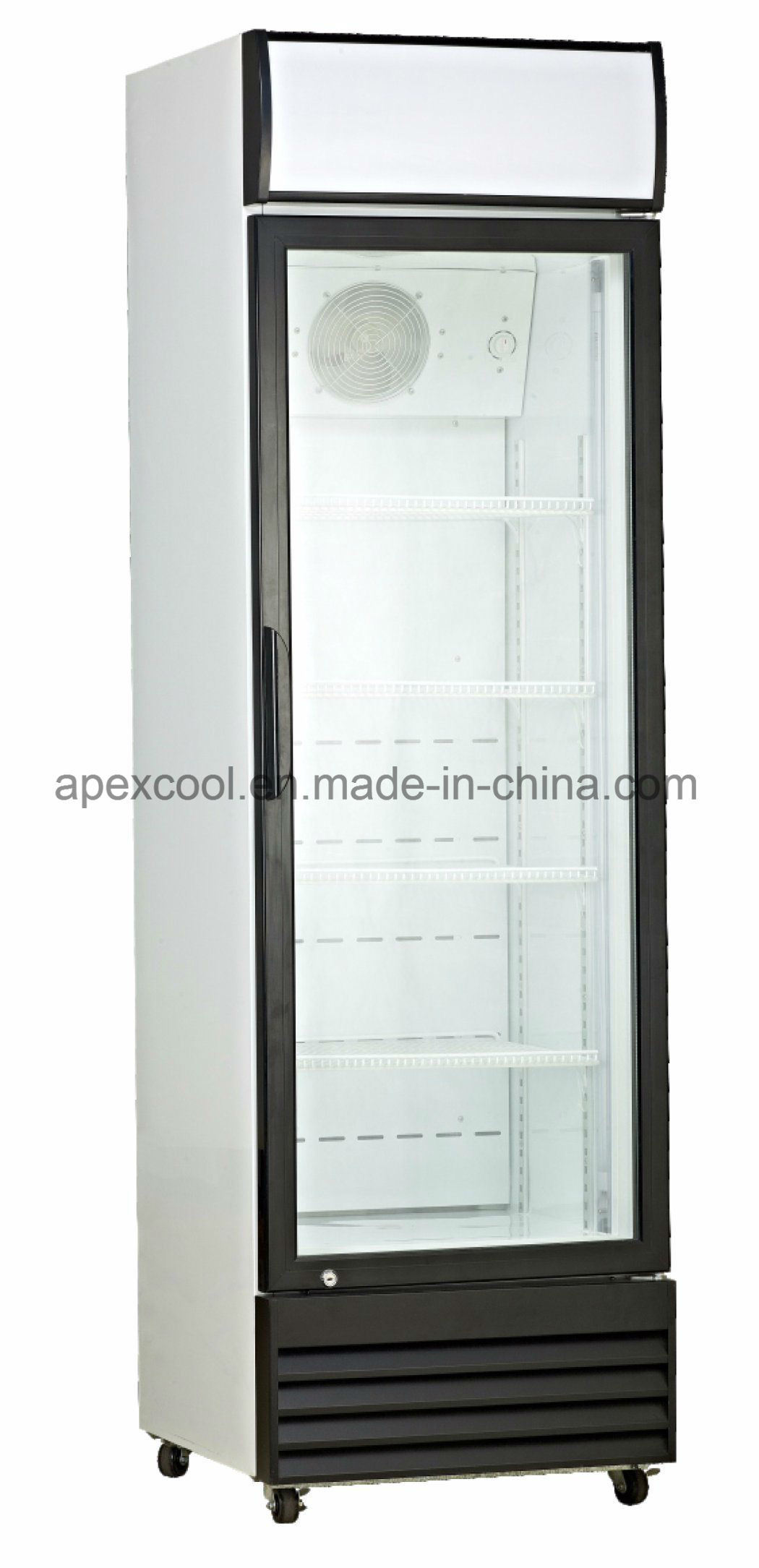 360l Used Commercial Refrigerators For Uptight Display Showcase