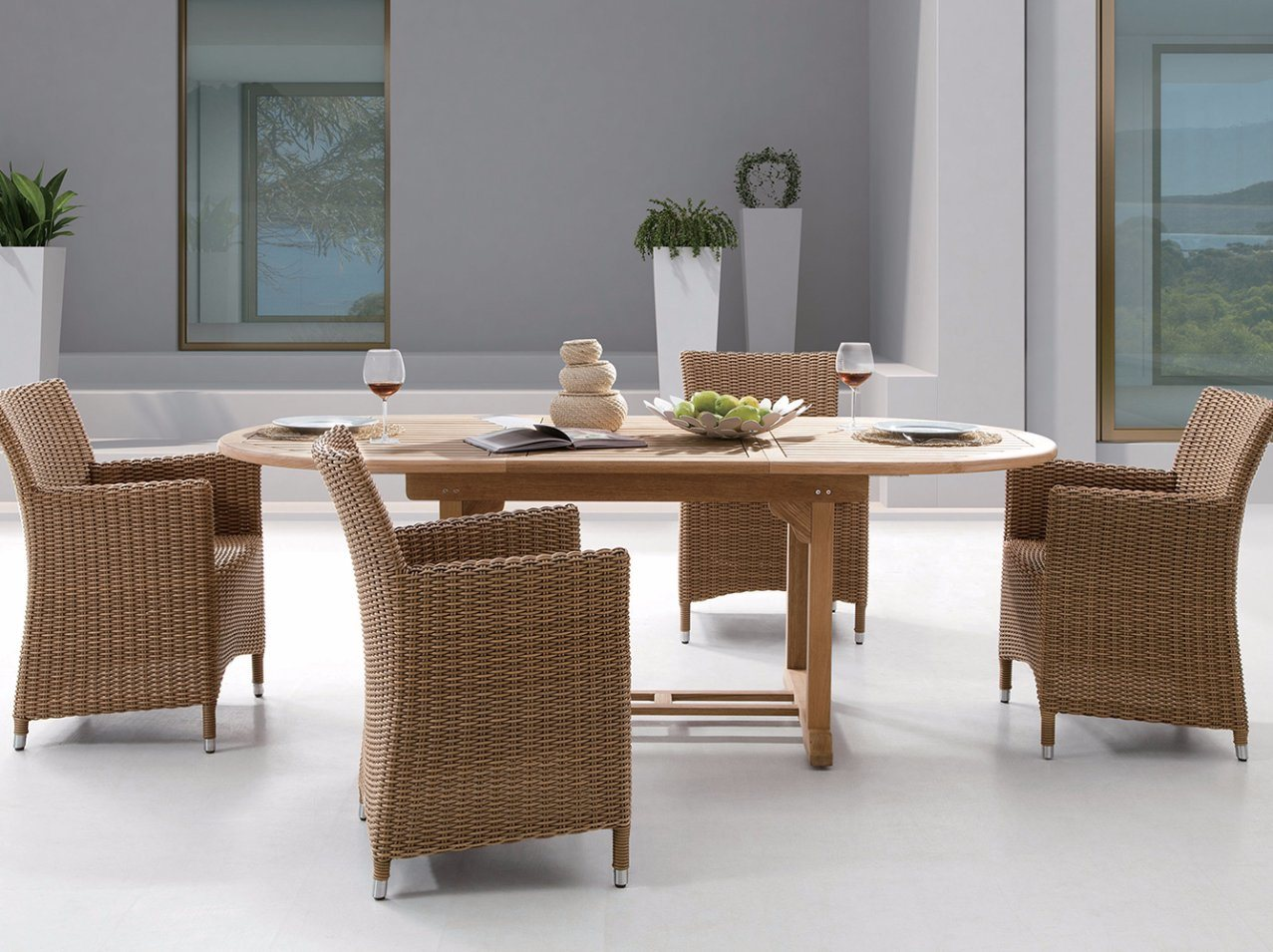 China rattan outdoor patio wicker auckland home hotel office garden furniture j375hr china dining chair garden chair