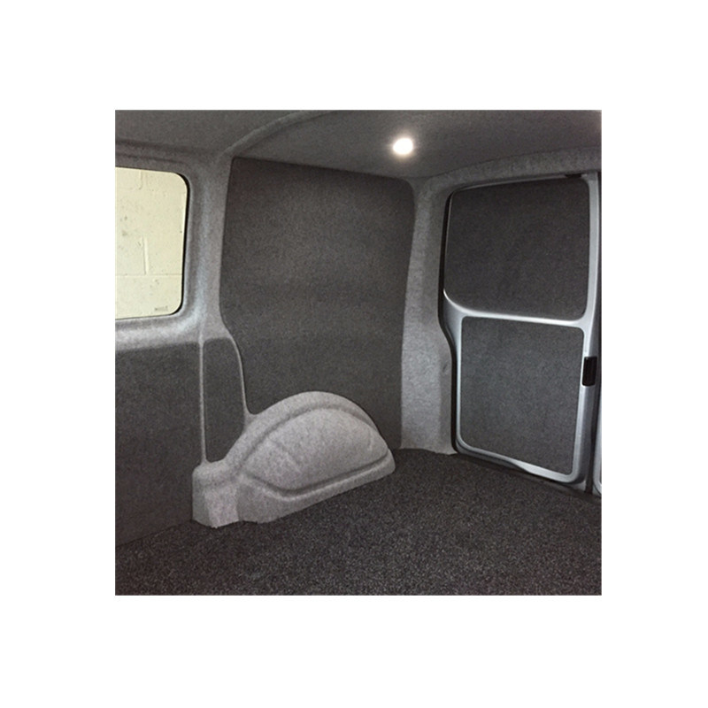 4 Way Stretch Van Camper Conversion Lining Pliable Carpet Light Grey 10m Bundle