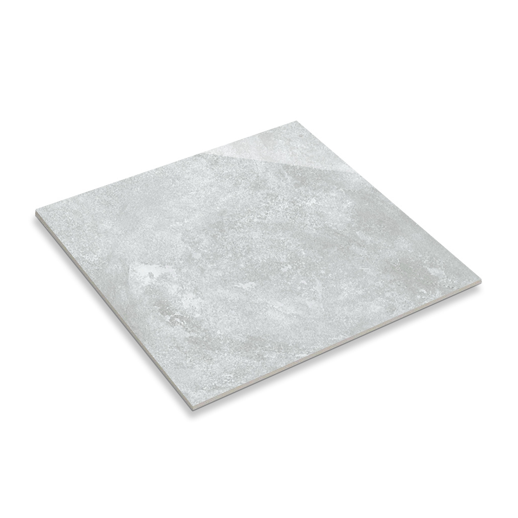 China Realgres Grey Kitchen Glazed Polished Porcelain Marble Floor Tile Stickers