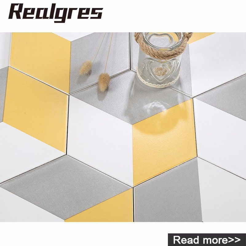 China Hexagon Tiles Bathroom Ceramic