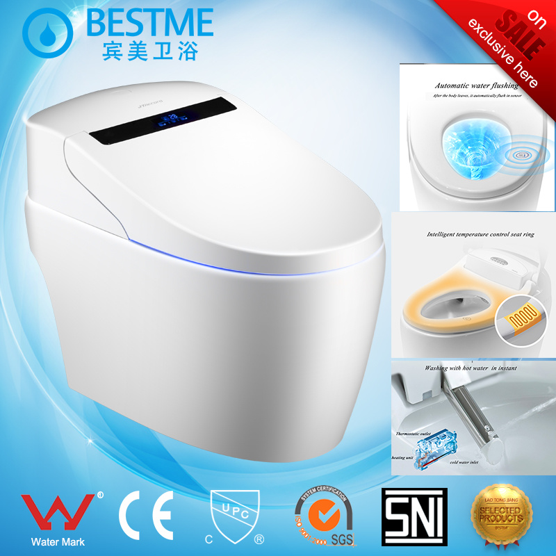 China Top Range Brand Automatic Toilet with Sensor Function Bc-826 ...