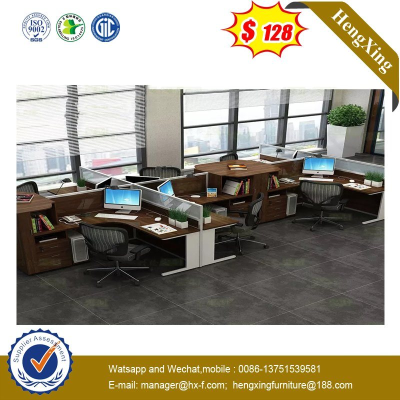 Sleek and Sturdy fashion Wooden Top Office Furniture Open Office Workstation pictures & photos