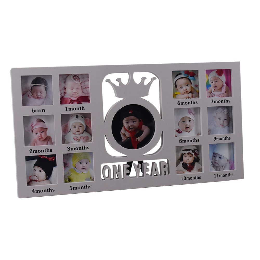 First Year Baby Collage Photo Frames