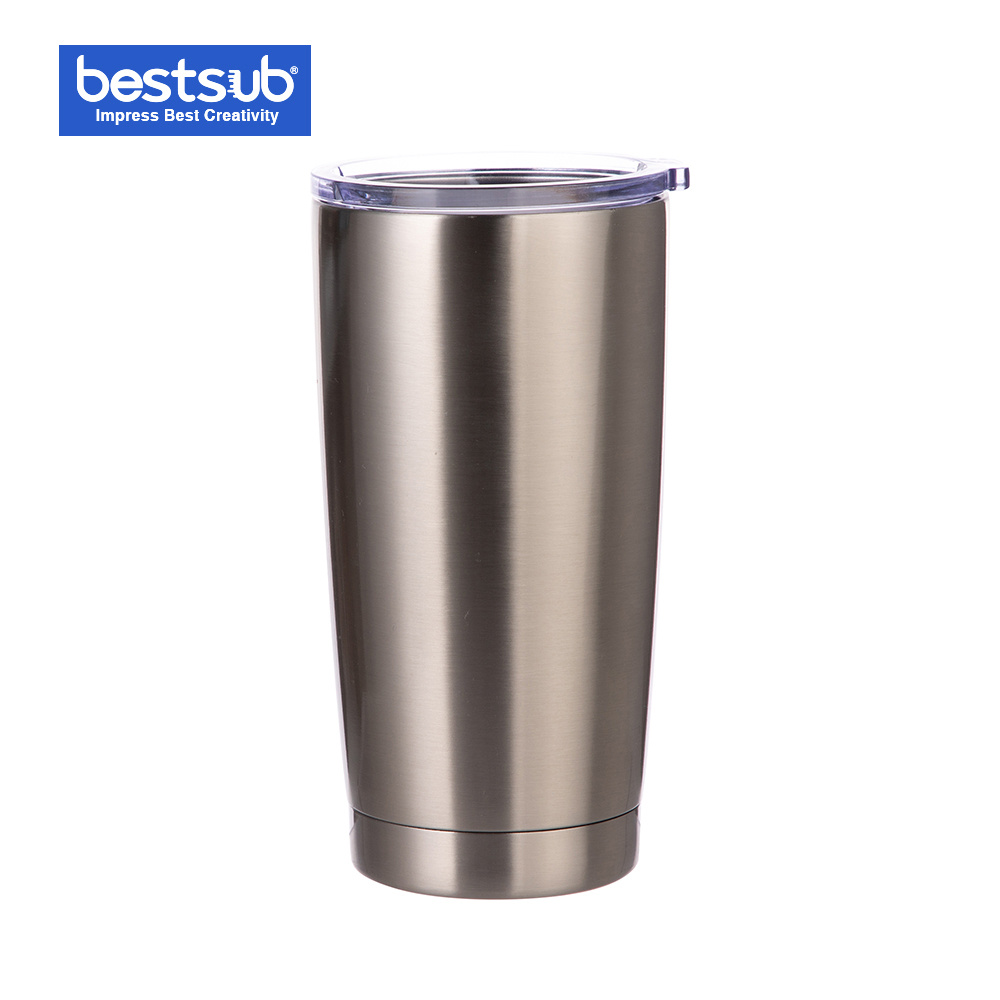 Bestsub Sublimation 20oz Stainless Steel Tumbler Cup Thermos Water Bottle Mug (Silver) (BYETIV20S-N) pictures & photos