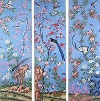 Handpainted Wallpaper