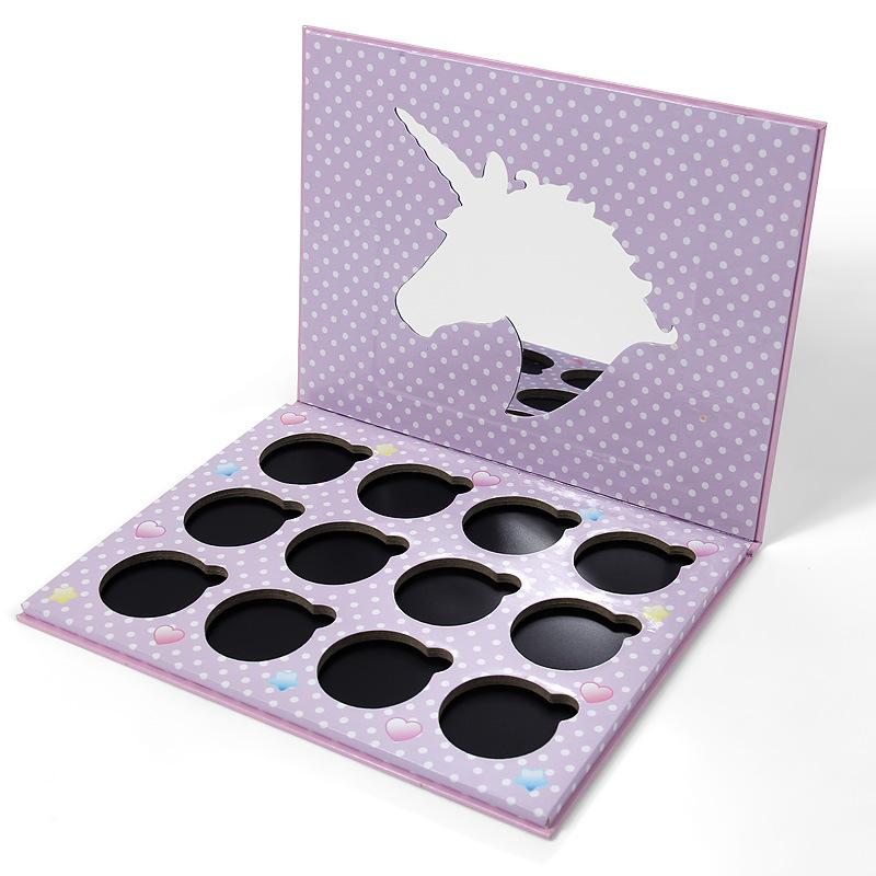 Low Moq Makeup Eyeshadow Paper Box 12