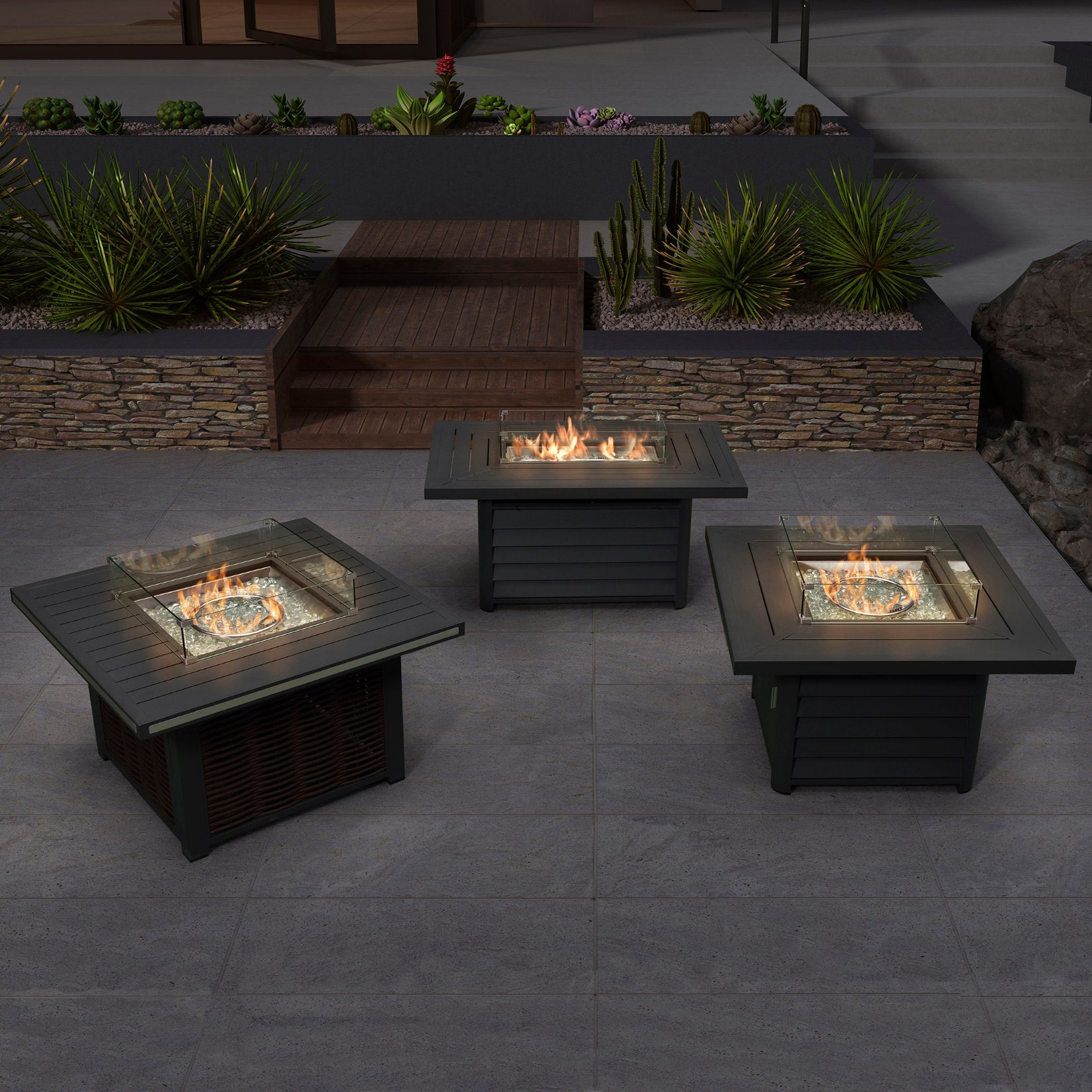 Picture of: China Weatherproof Outdoor Furniture Patio Propane Fire Pit Table With Aluminum Frame China Garden Furniture Backyard Fire Pit