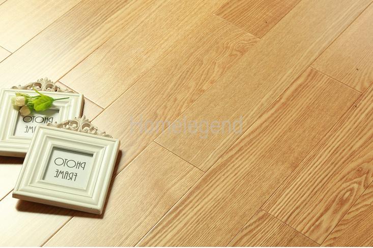 China Household Ash Flooring Popular Color Real Wood Texture Laminate