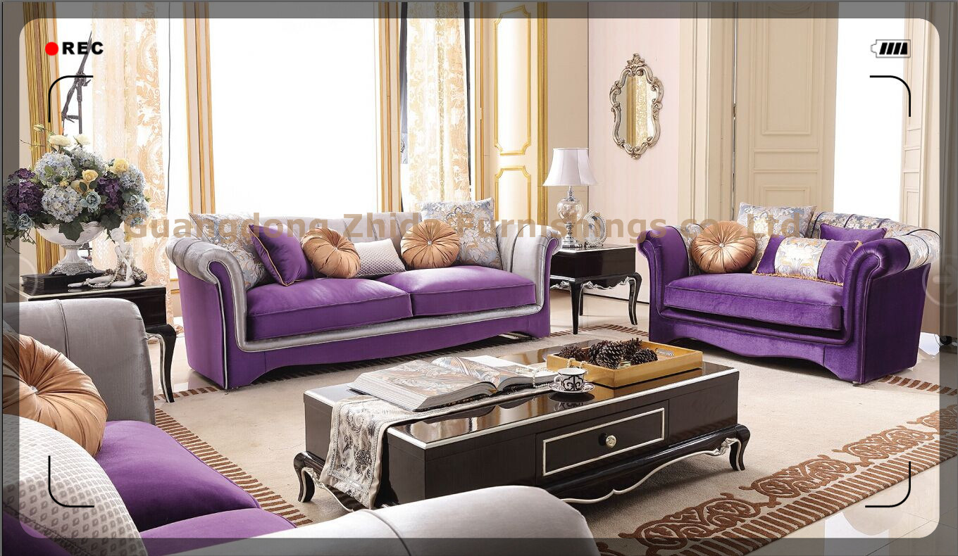 [Hot Item] High Quality Big Size Comfortable Living Room Sofa Set