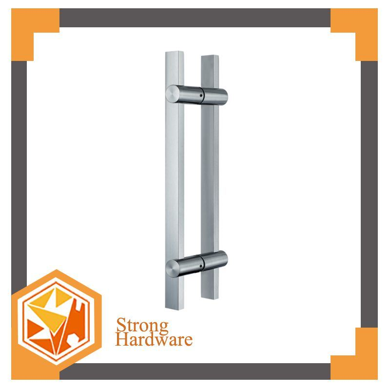 China Square Pipe Sliding Glass Door Pull Handles China Door