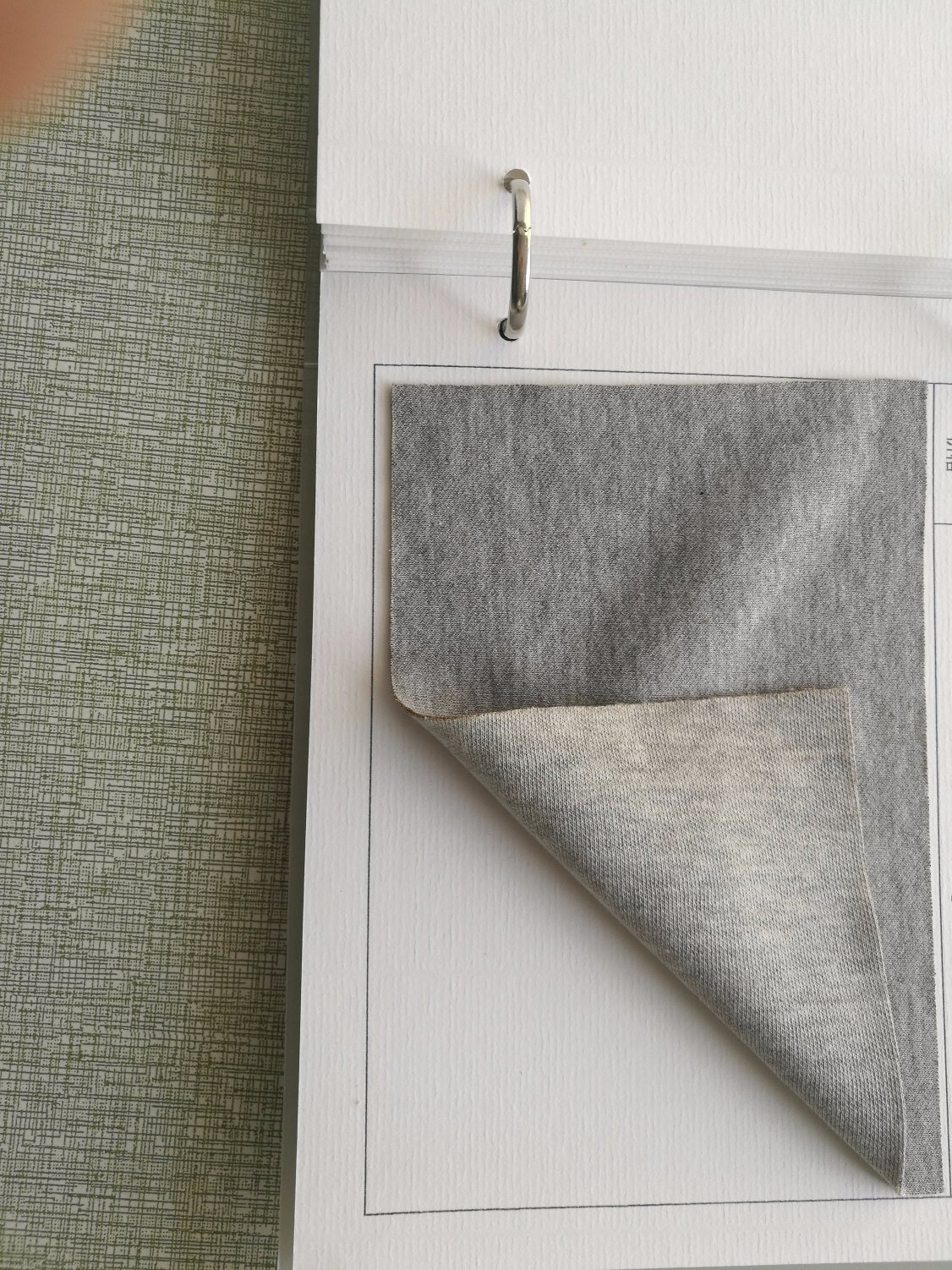 3D Airlayer Silver Fiber Knitting Fabric (Two Sides)