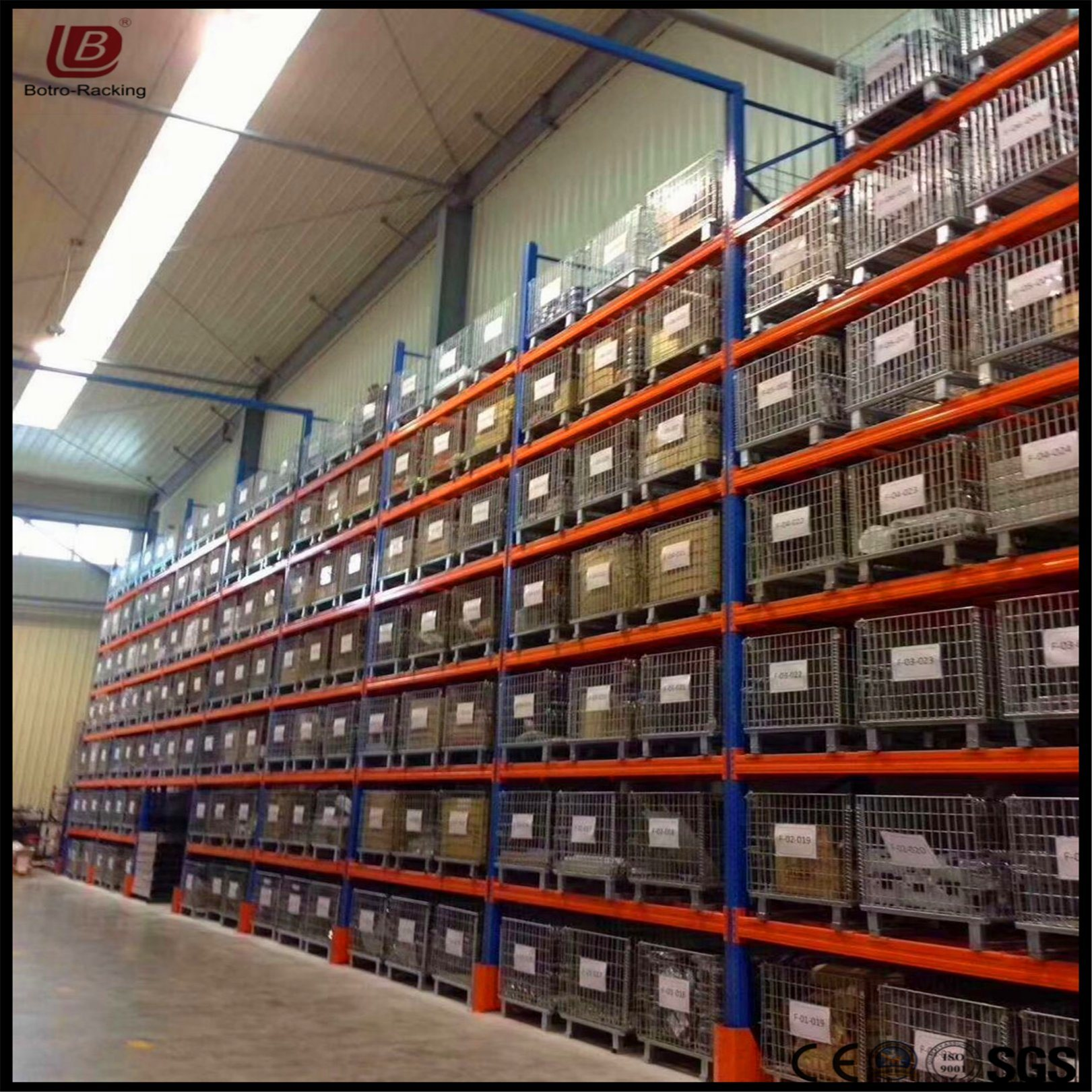 Hot Item Heavy Duty Commercial Industrial Warehouse Storage Shelving