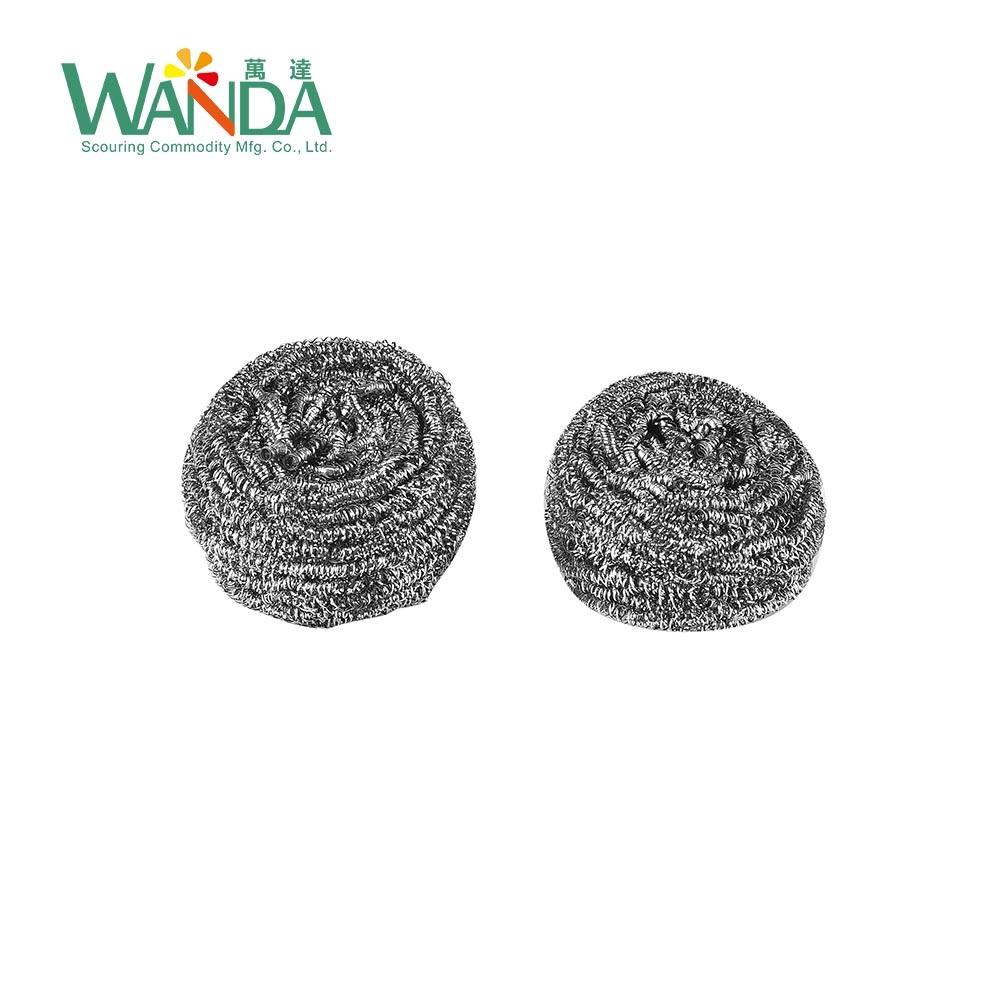 China Low Price Kitchen Scrubber Stainless Steel Scourer Wire ...