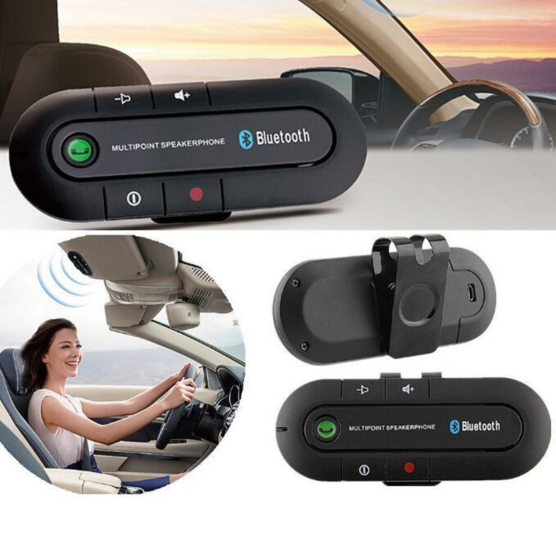 High Sound Quality Wireless Car Audio Speakerphone Bluetooth Car Kit Handsfree pictures & photos
