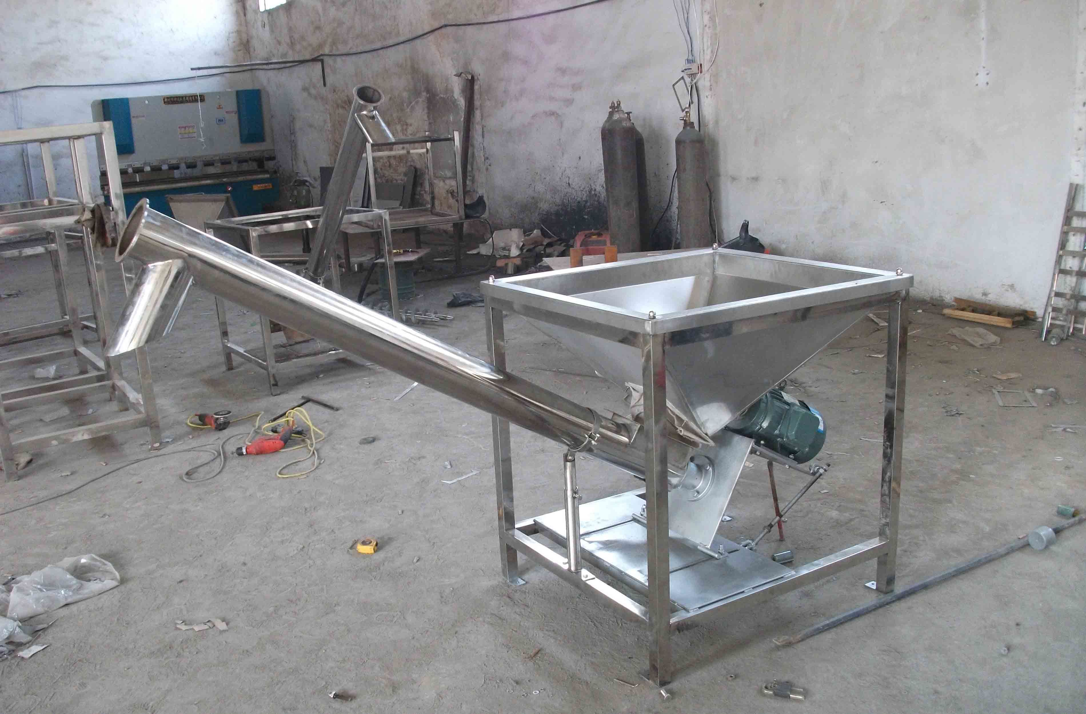 zealand successfully automatic filling auger client for a machine powder new delivered feeder manual semi