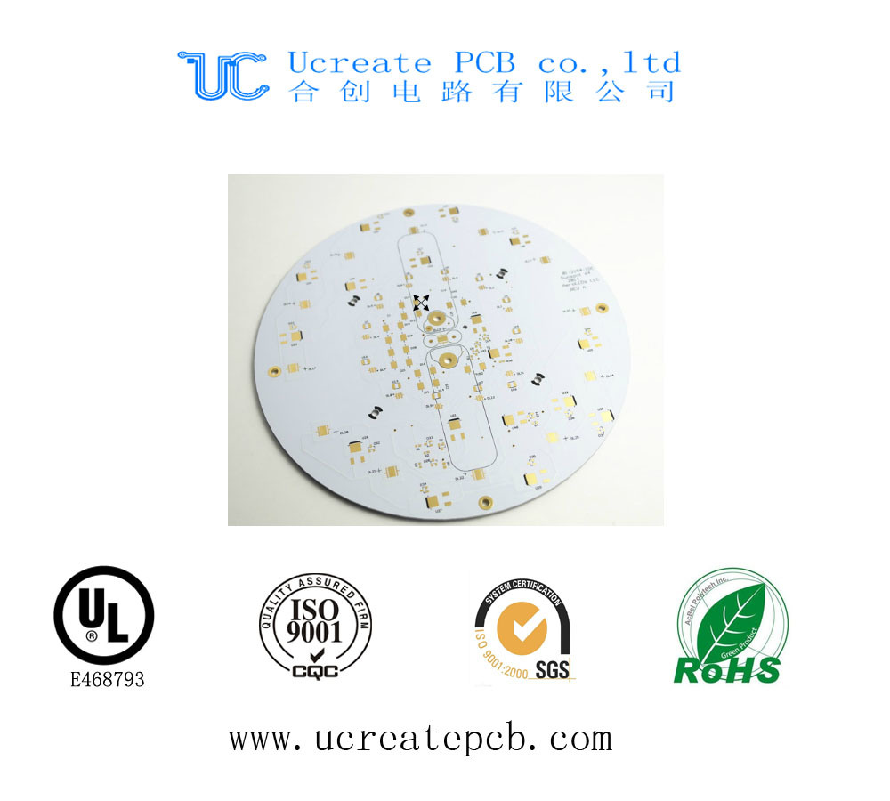 China 2 Layer Led Pcb Circuit Board With Reasonable Price Aluminum Printed Making For Ceiling Lighting Pcba