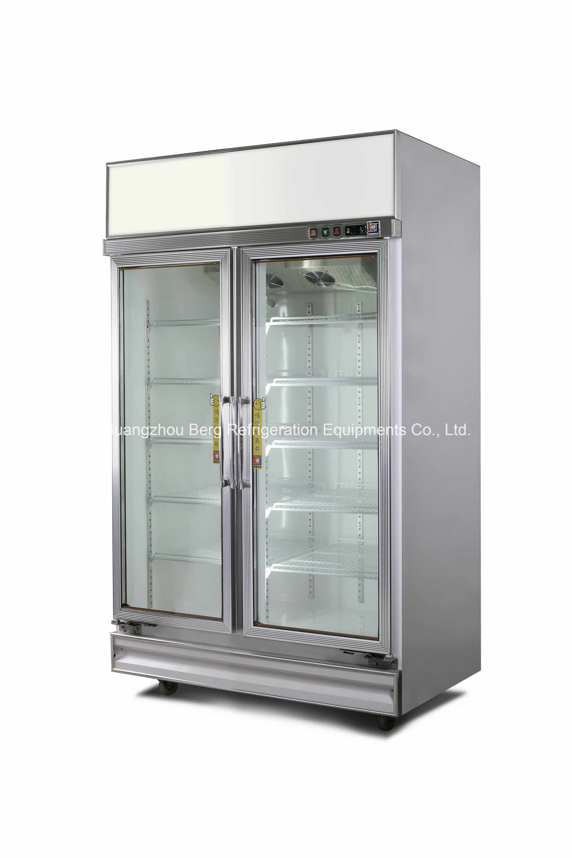 Luxurious 3 Door Display Cooler for Drinks