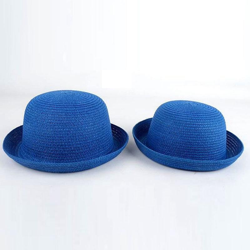 Wholesale Custom Lady Raffia Paper Boater Floppy Straw Hat Panama Summer  Beach Sun Hats for Women cc0a0205606e