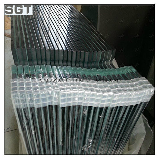 3mm-19mm Clear Toughened Glass with Ce AS/NZS 2208 for Shower Door/Balustrade/Fencing