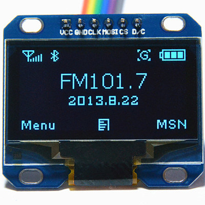 China 1 3inch Spi 128*64 Blue OLED Module for Arduino
