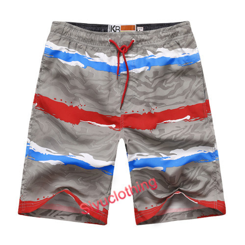 Colorful Polyster Beach Summer Swimming Wear Shorts (S-1521)