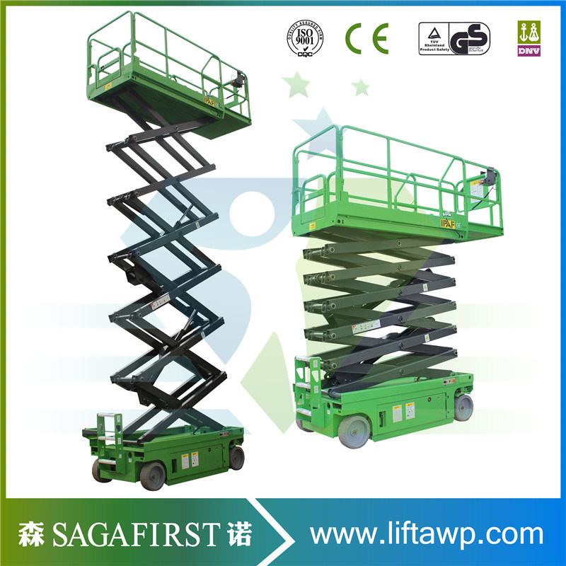 China 6m~12m Electric Motor Driven Self Propelled Scissor Lift ...