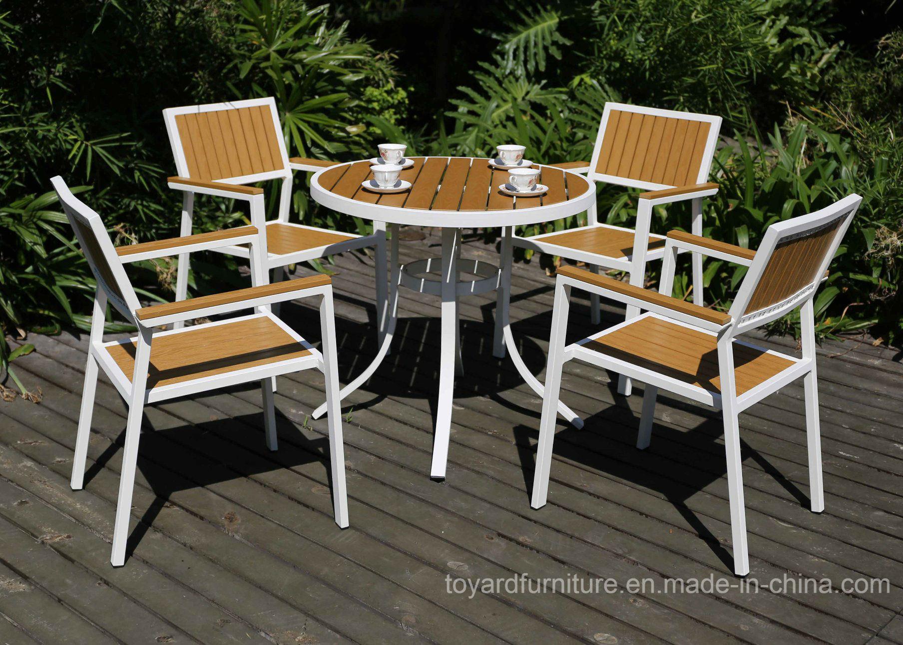 china best chocies modern outdoor leisure furniture aluminum wooden