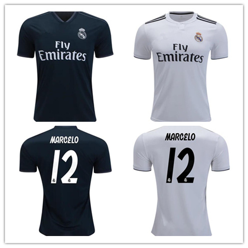 China Men Women Youth Real Madrid Jerseys 12 Marcelo Soccer Jerseys ... 8c84a5fe3