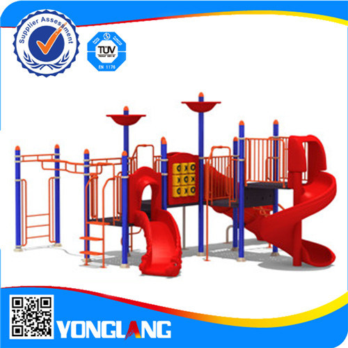 Used Merry Go Round Playground Outdoor Slide Equipment For Yl71871