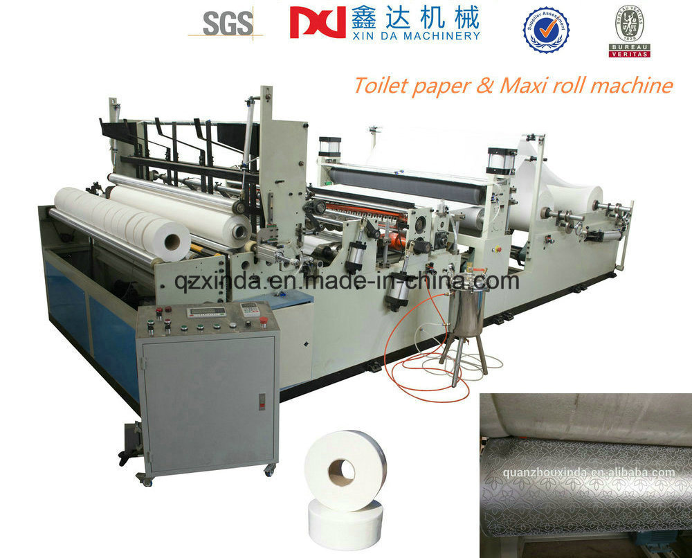 China Small Toilet Paper Rolling Making Harvest Machine Cil-Ww-D ...