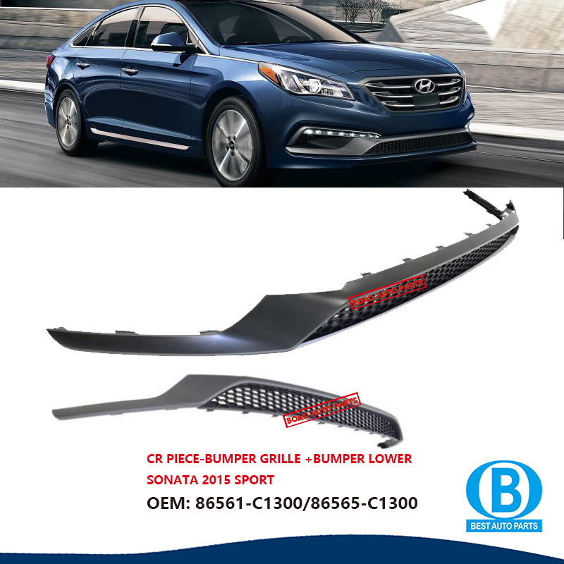 China Auto Spare Parts Front Bumper Fits For Hyundai Sonata 2015