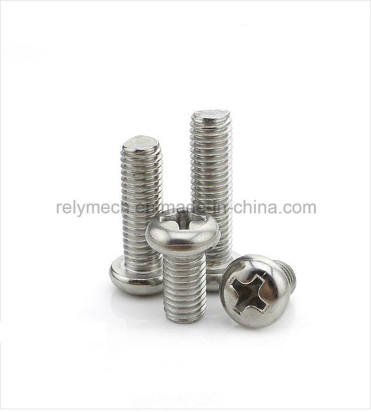 [Hot Item] Fastener Stainless Steel Phillip Pan Head Machine Screw M2-M3