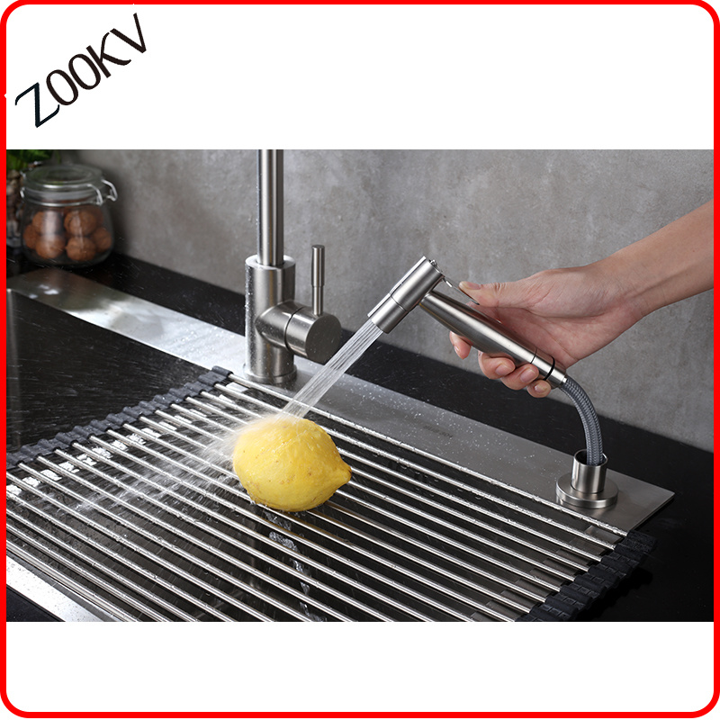 China 304 Stainless Steel Hand Held Kitchen Sink Washing Sprayer Shower Tap For Kitchen Accessories Bidet Photos Pictures Made In China Com