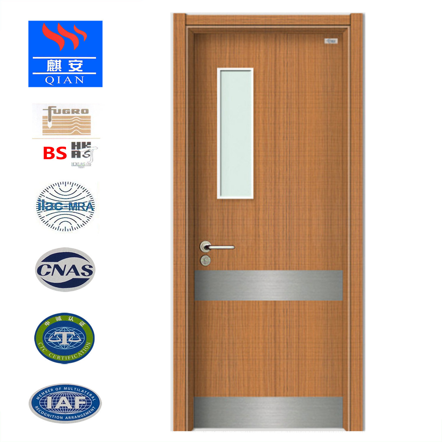 China Good Quality Foshan Household Wooden Door With Glass Panel   China Wooden  Door, Wood Door