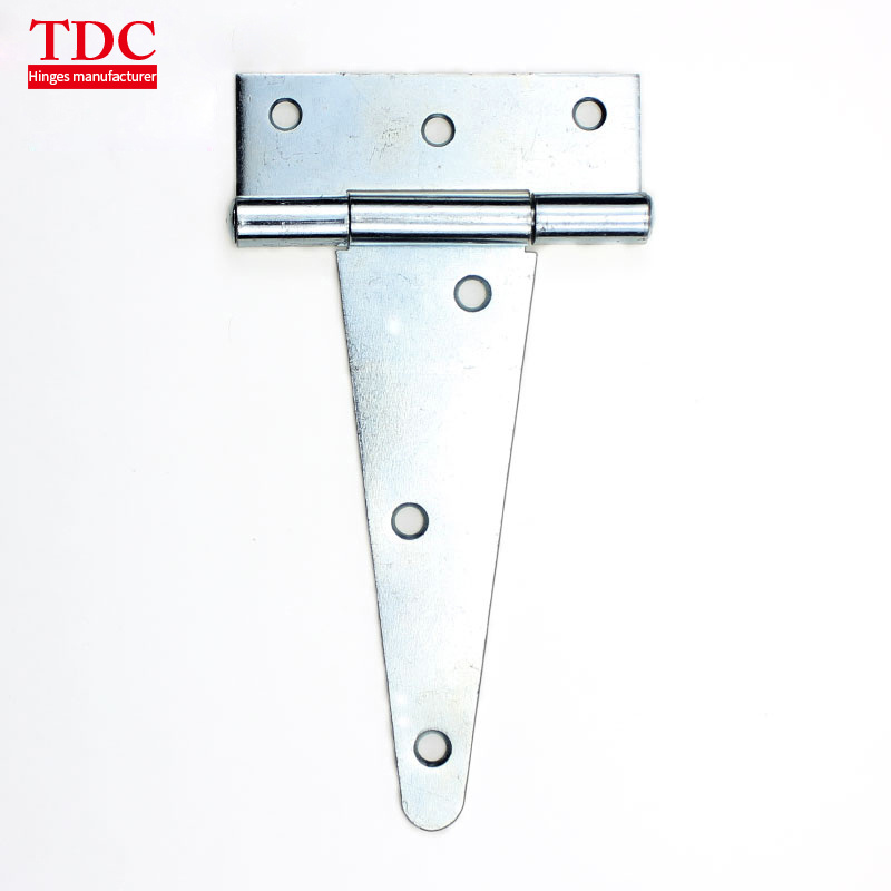 """4/"""" Heavy Duty Tee T Hinges Zinc-Plated for Fence Gate Barn Shed Door"""