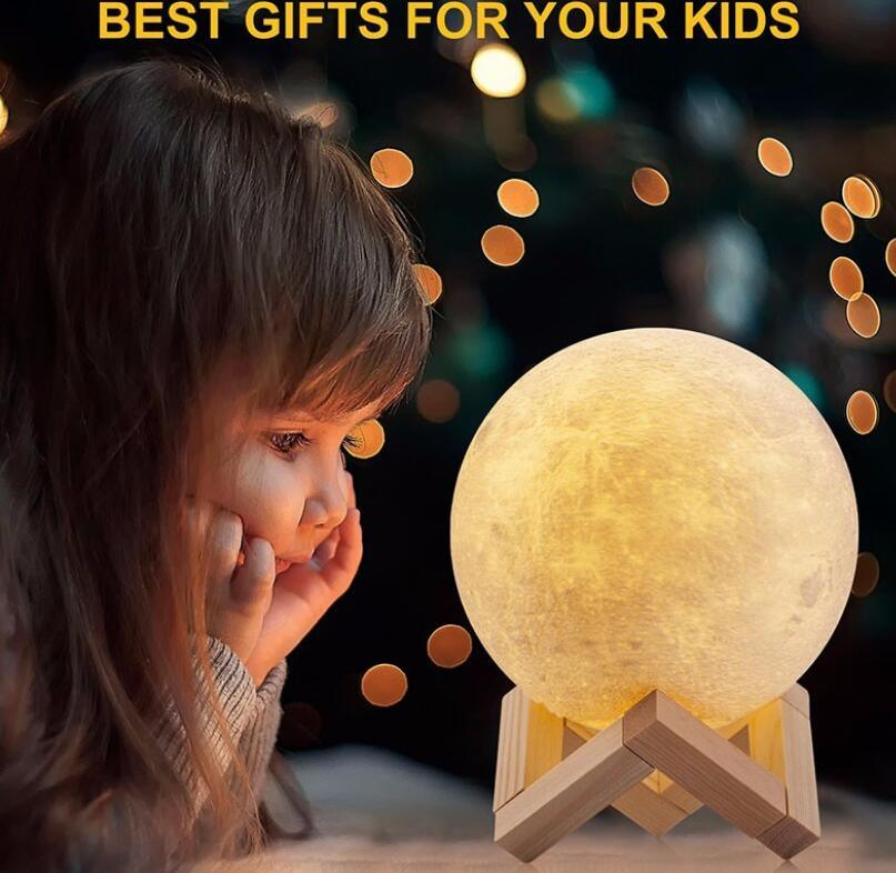 Christmas Gift, 3D Moon Lamp, 3D LED Lamp, 3D Lamp pictures & photos