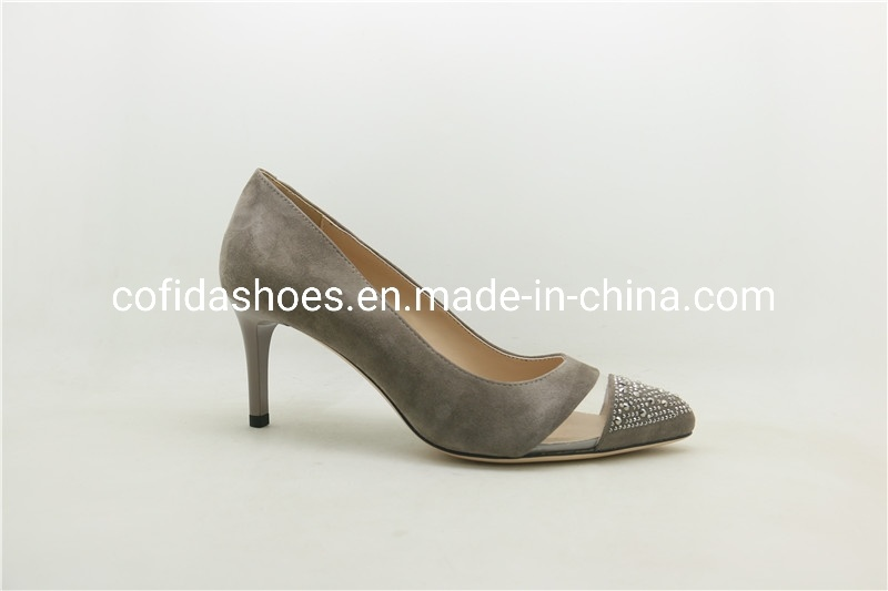 China Classic High Heels Soft Leather