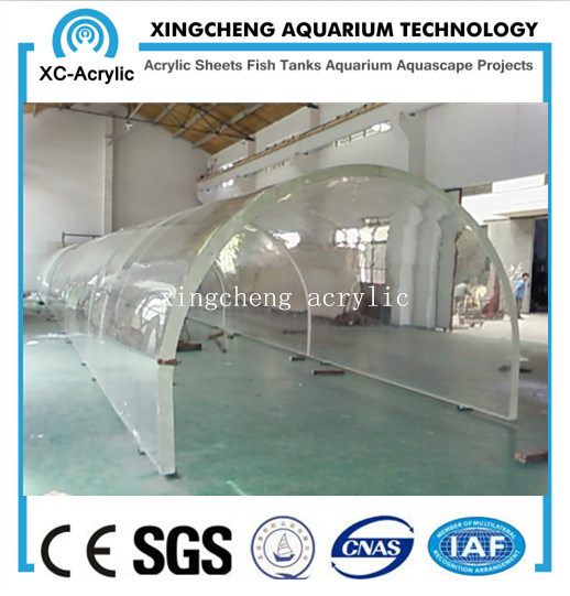china curved acrylic sheet aquarium project china acrylic sheet