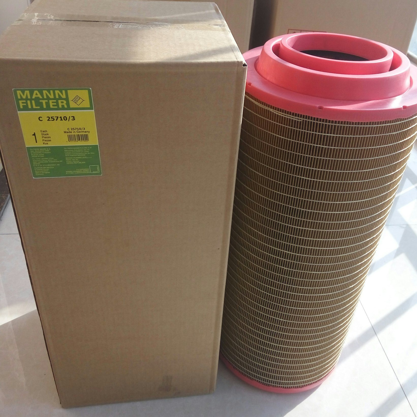 [Hot Item] High Quality Mann Air Compressor Air Filter C25710/3