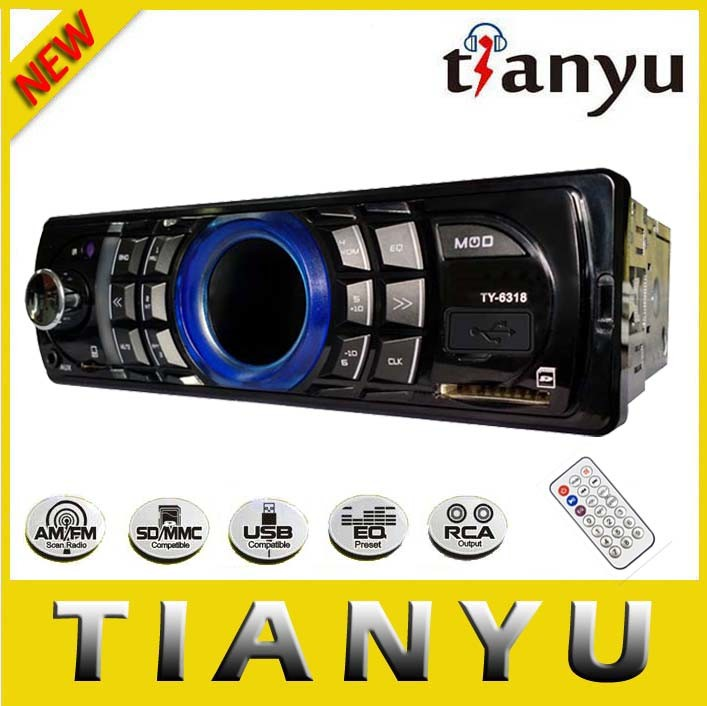 Private Mould Ty-6318 Bluetooth Car Radio with Power IC 7388