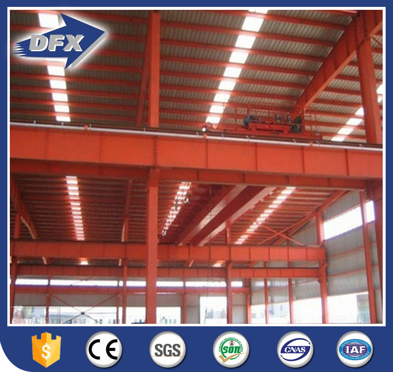 Sandwich Panel Steel Structure Warehouse Workshop /Drawings pictures & photos