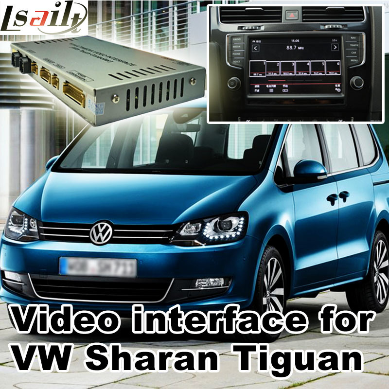 Hot Item Car Video Interface For Volkswagen Sharan Tiguan Skoda Seat Etc With Mib System Android Navigation Rear And 360 Panorama Optional