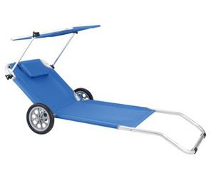 dd3c33da660 China Transport Beach Chair with Wheels AC5003 Beach Chair - China Foldable  Beach Bed