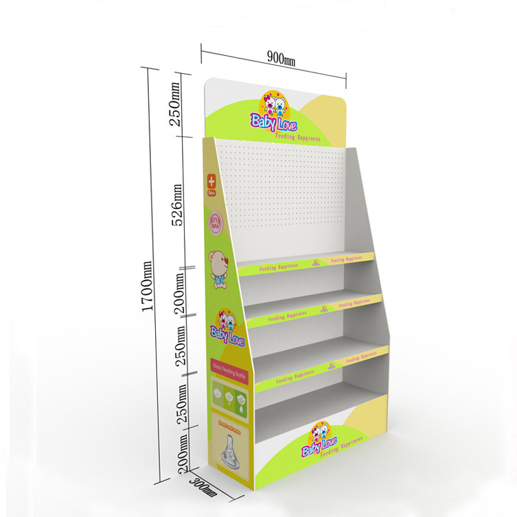 Super Market Display, Cardboard PVC Display