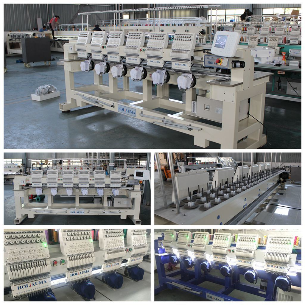 0a8c5563c4a Best China Factory Produce T-Shirt Logos Hat Embroidery Machine 6 Heads  Computerized Embroidery Machine