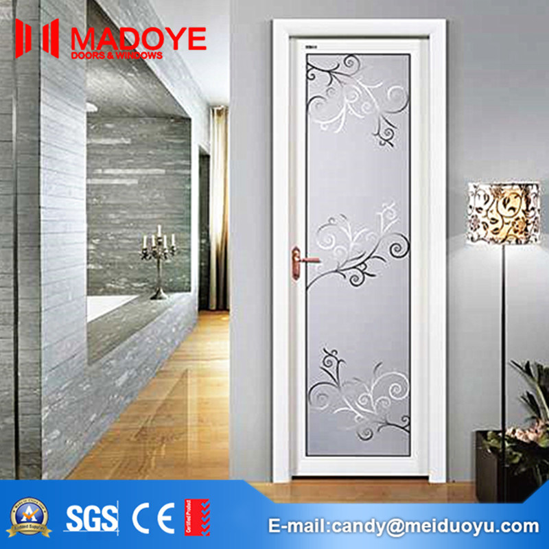 China Decoration Material Frosted Glass Washroom Door for Hotel - China Aluminium Door Glass Door & China Decoration Material Frosted Glass Washroom Door for Hotel ...