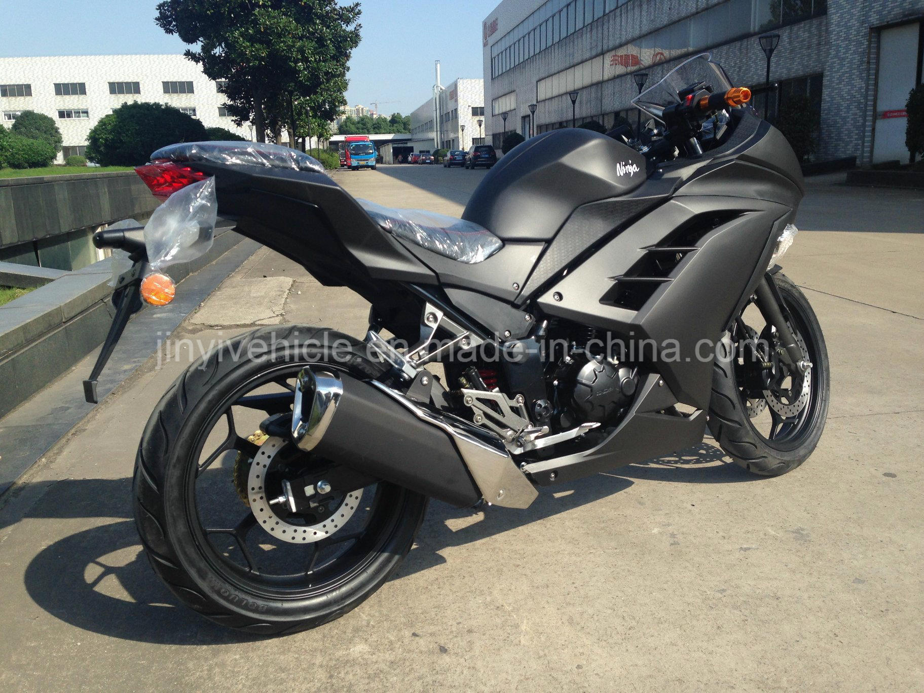 China Black Color Racing Motorbike Heavy Motorcycle Air ...
